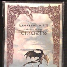 Cómics - PORTFOLIO 1 FANTASTIC ART OF CIRUELO - 42609622