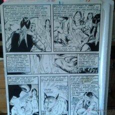 Cómics: COLMILLO BLANCO.MARVEL CLASSICS#32.P17.THE TRIBE.PÁGINA ORIGINAL ART COMIC.. Lote 43007864