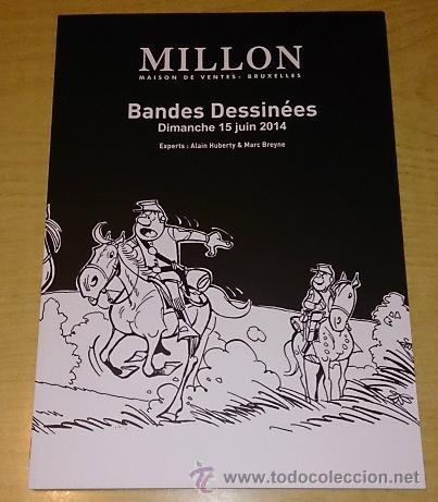 CATALOGO BANDE DESSINEE. MILLON AND ASSOCIES. (Tebeos y Comics - Art Comic)