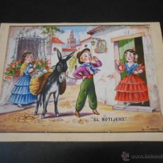 Cómics: DIBUJO A COLOR ORIGINAL DE CONESA - TAMAÑO 17 X 25 CENTIMETROS. Lote 44044480
