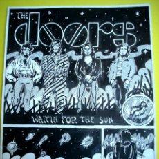 Cómics: THE DOORS - COMIC 3 PÁGINAS - 1970'S. Lote 44208389