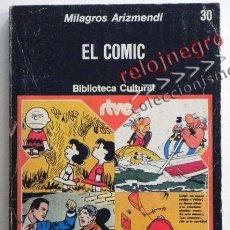 Cómics: EL CÓMIC - MILAGROS ARIZMENDI - ED PLANETA RTVE - ARTE - ANÁLISIS ENSAYO ESTUDIO GUÍA - LIBRO. Lote 44255398