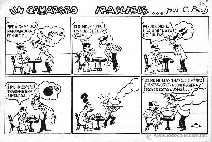ORIGINAL DEL TBO DE BECH (Tebeos y Comics - Comics - Art Comic)