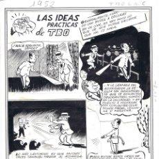 Cómics: ORIGINAL DEL TBO DE AYNÉ LAS IDEAS PRÁCTICAS DE TBO. Lote 45217151