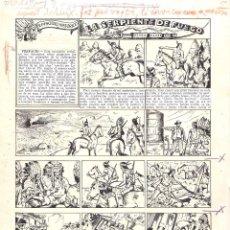 Cómics: ORIGINAL DEL TBO DE ALBERT MESTRE LA SERPIENTE DE FUEGO. Lote 45335573