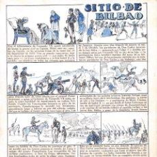 Cómics: ORIGINAL DE BECQUER EL SITIO DE BILBAO. Lote 45335678
