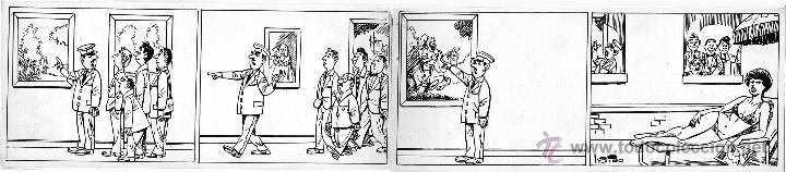 CANDELA ORIGINAL DE ÍÑIGO (Tebeos y Comics - Comics - Art Comic)