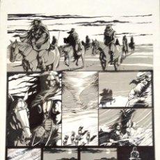 Fumetti: PAGINA ORIGINAL. LA ESPADA SALVAJE DE CONAN. LA LUNA ASESINA. PAGE 1. AUTOR TORRES.. Lote 46007759