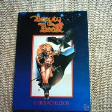 Cómics: CHRIS ACHILLEOS. BEAUTY AND THE BEAST. A COLLECTION OF HEROIC FANTASY ILLUSTRATIONS. 1978 1ª EDICIÓN. Lote 47544183