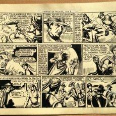 Cómics: DIBUJO ORIGINAL PLUMILLA- EL HIJO DE LA JUNGLA -Nº53- INTRIGA EN PALACIO 2ª PARTE DE 3 -1957 -PÁG. 8. Lote 47775932