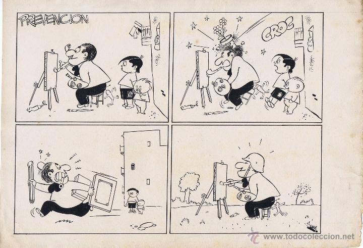 ORIGINAL DE SEGURA (Tebeos y Comics - Comics - Art Comic)