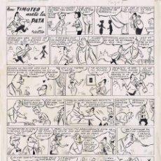 Cómics: ¡¡¡REBAJADO!!! ORIGINAL DEL TBO POR SABATES. Lote 47819992