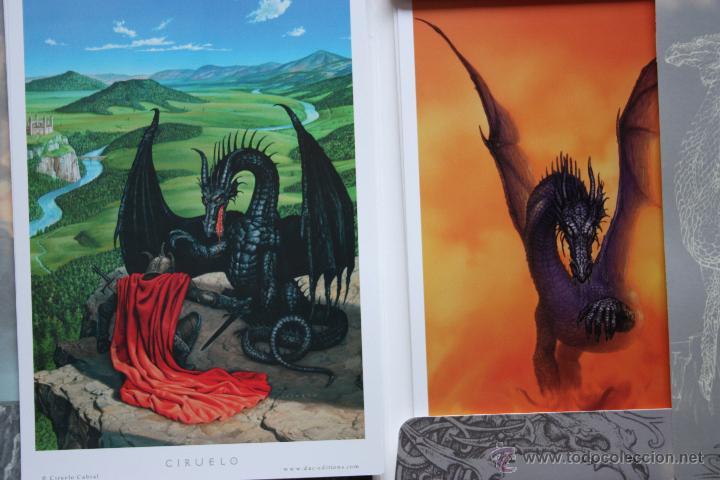 Cómics: Portafolio 1. Fantasy Art. Ciruelo Cabral. Portafolio dedicado por el autor. Perfecto estado - Foto 3 - 47893790
