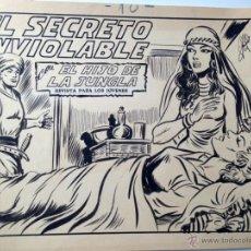 Cómics: HIJO DE LA JUNGLA - MANUEL GAGO - CUADERNILLO COMPLETO. Lote 48364476