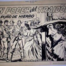 Cómics: MANUEL GAGO – CUADERNO COMPLETO PUÑO DE HIERRO. Lote 48535220