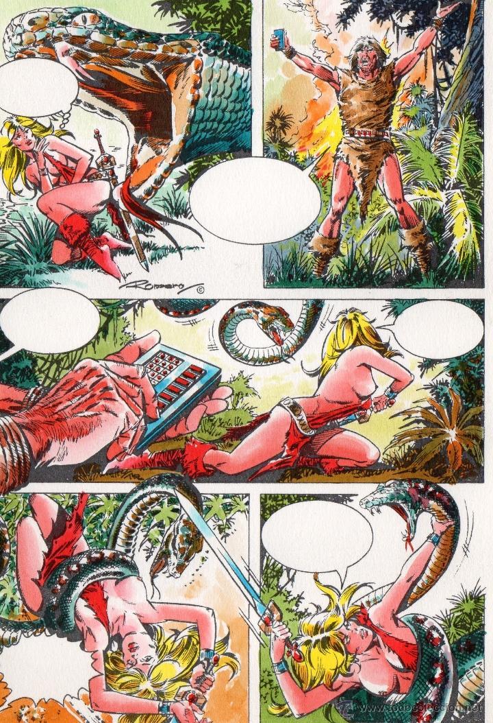 Axa Comic Book