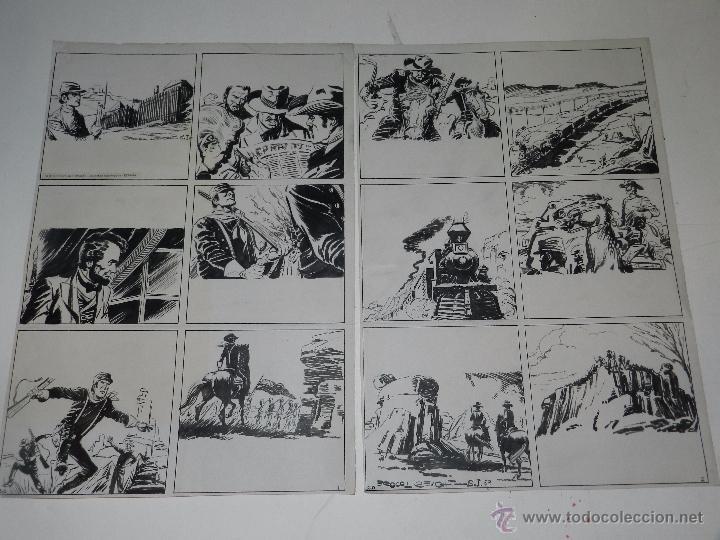 (M701) HISTORIETA ORIGINAL POR BROCAL REMOHI - SELECCIONES ILUSTRADAS, 2 PAGINAS (Tebeos y Comics - Art Comic)