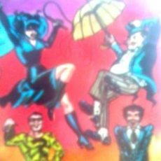 Cómics: DAVID MORTON- MIS LÁMINA´S POP- SERIE DC-WARNER - BATMAN SUPERVILLANOS - CARTULINA A4. Lote 48884133