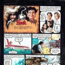 Cómics: DIBUJO ORIGINAL -HISTORIA COMPLETA FIRMADA- VENTURA&NIETO - HOOK - PVP 600€. Lote 48968933