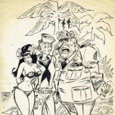Cómics: DIBUJO ORIGINAL JORDI BUXADÉ - PVP 600€. Lote 48969189