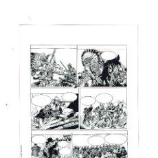 Cómics: LITOGRAFÍA ORIGINAL FIRMADA JORDI MACABICH - BANG!- PVP 50€. Lote 49032198
