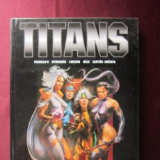 Cómics: TITANS LAS VISIONES HEROICAS BORIS VALLEJO Y JULIE BELL PATRULLA X, SPIDERMAN LOBEZNO TEBENI NORMA. Lote 49135973