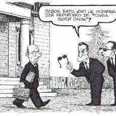 Cómics: DIBUJO ORIGINAL ENRIQUE VENTURA - LA VANGUARDIA #1 - PVP 120€. Lote 49264029