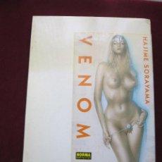Cómics: VENOM. EL ARTE DE HAJIME SORAYAMA ART BOOK. NORMA EDITORIAL 1ª ED. 2004 TAPA DURA CON ESTUCHE TEBENI. Lote 49266880