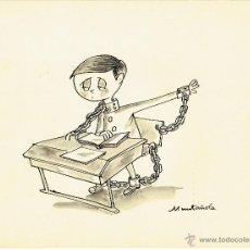 Cómics: DIBUJO ORIGINAL DE JOAQUIM MUNTAÑOLA PARA TVE #1 DE 1964 - PVP 150€. Lote 49294797