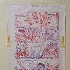 Cómics: DIBUJO ORIGINAL DISNEY- CLINT - JMM - PVP 150€. Lote 49591995