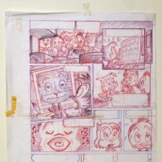 Cómics: DIBUJO ORIGINAL DISNEY CLINT 2- JMM - PVP 125€. Lote 49602474