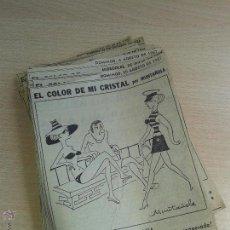 Cómics: RECORTES DE VIÑETAS EL COLOR DE MI CRISTAL DE MUNTAÑOLA AÑOS 60 LA VANGUARDIA MAS DE 150 DIFERENTES. Lote 49750628
