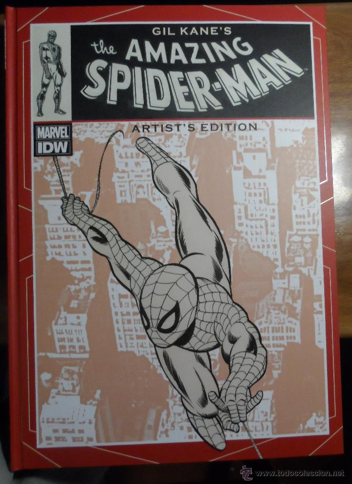 GIL KANE'S THE AMAZING SPIDER-MAN ARTIST'S EDITION. (Tebeos y Comics - Art Comic)