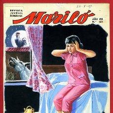 Cómics: DIBUJO ORIGINAL COLOR , PORTADA DE MARILO Nº 169 , JOSE LUIS ,ORIGINAL, G. Lote 50394649