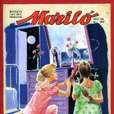 Cómics: DIBUJO ORIGINAL COLOR , PORTADA DE MARILO Nº 166 , JOSE LUIS ,ORIGINAL, G. Lote 50394663
