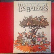 Comics : HISTORIA DE LES BALEARS, EN CÓMIC, SACO ROTO EDICIONES, 1981. Lote 50555103