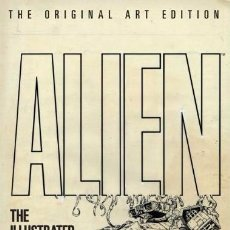 Cómics: ALIEN THE ILLUSTRATED STORY - THE ORIGINAL ART EDITION HC (TITAN BOOKS,2012) - WALTER SIMONSON. Lote 51389507