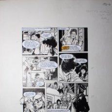 Fumetti: PAGINA ORIGINAL. ESTHER Y SU MUNDO (PATTY'S WORLD AÑO TOMO 07 PAG 112 1976) DE PURITA CAMPOS. Lote 51994364