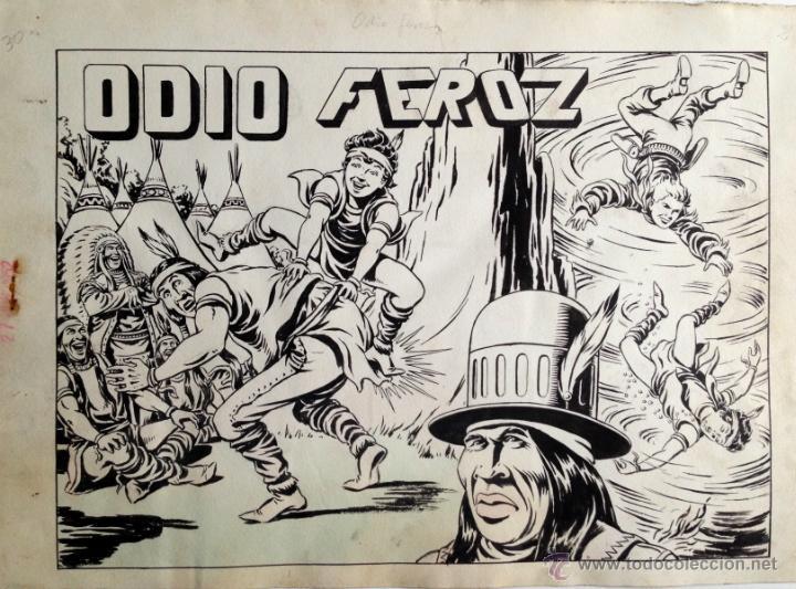 AMBRÓS - CHISPITA - CUADERNO ORIGINAL COMPLETO (Tebeos y Comics - Art Comic)
