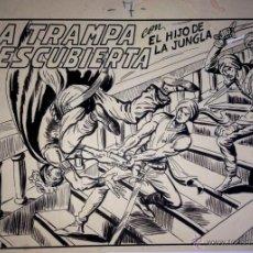 Cómics: MANUEL GAGO - EL HIJO DE LA JUNGLA - CUADERNO ORIGINAL COMPLETO. Lote 52416076