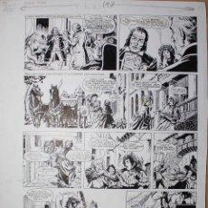Comics : PAGINA ORIGINAL DE TINA (AUTOR JULIO VIVAS).. Lote 53011178