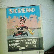 Cómics: PORTADA ORIGINAL BEAUMONT (CAPITAN TRUENO) FIRMADAPARA Nº 25 DE HISTORIETAS Y CUENTOS ED ROMA SERENO. Lote 53291397