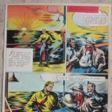 Cómics: PAGINA ORIGINAL ENRIC BADIA ROMERO AÑO 1944. Lote 53503067