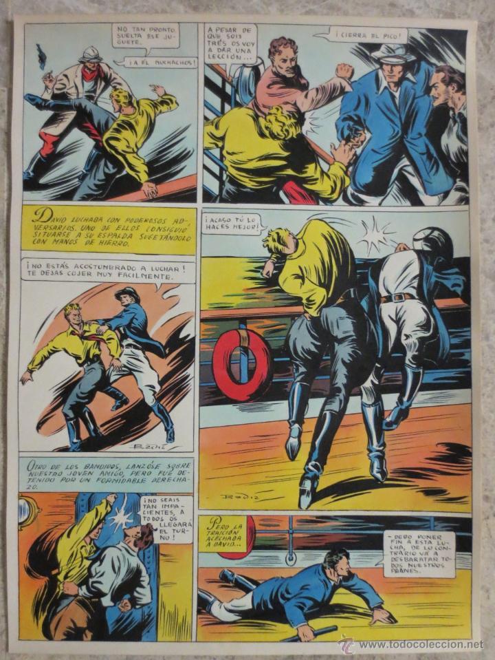 PAGINA ORIGINAL ENRIC BADIA ROMERO AÑO 1944 (Tebeos y Comics - Art Comic)