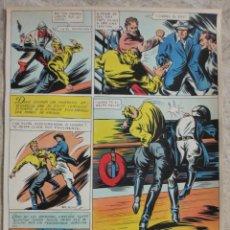 Cómics: PAGINA ORIGINAL ENRIC BADIA ROMERO AÑO 1944. Lote 53503125