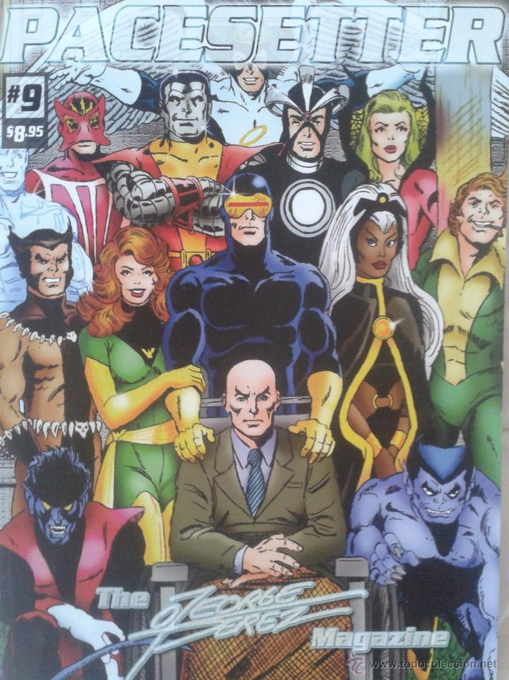 PACESETTER 9 (THE GEORGE PEREZ MAGAZINE). (Tebeos y Comics - Art Comic)