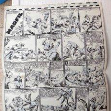 Cómics: DIBUJO ORIGINAL PLUMILLA, P. GAGO , MARFIL , JAIMITO , 1948, 2 HOJAS GRANDES , H. Lote 53974423