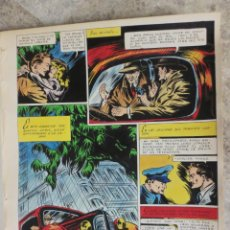 Cómics: PAGINA ORIGINAL ENRIC BADIA ROMERO AÑO 1944 COMIC ART PAGE. Lote 54011654