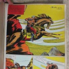 Cómics: PAGINA ORIGINAL ENRIC BADIA ROMERO AÑO 1944 COMIC ART PAGE. Lote 54016366