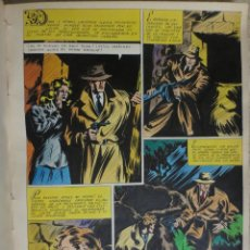 Cómics: PAGINA ORIGINAL ENRIC BADIA ROMERO AÑO 1944 COMIC ART PAGE. Lote 54016580
